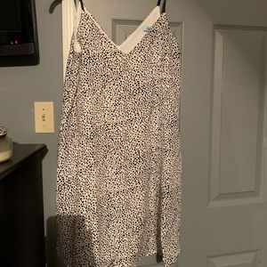 She and sky leopard dress. Size small